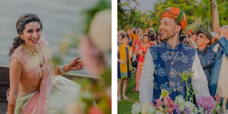 An Indo-Dutch, Eco-Friendly Kerala Wedding With Just An Exchange Of Vows