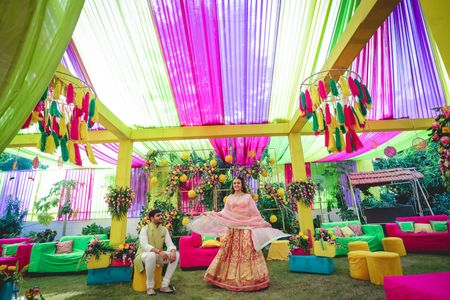 #BudgetBrides: How To Design A Trendy & Pretty Mehendi Outfit In A Budget Of 5K!