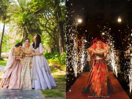 The Coolest Wedding Ideas We Spotted In 2018 Real Weddings On WMG!