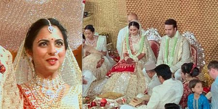 FIRST PICTURES From #IshaAmbaniWedding Are Out & The Bride Looks Like A Princess!