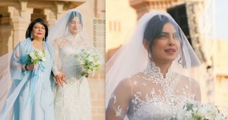 6 Things That Happened At Priyanka & Nick's Christian Wedding That Are Aww-dorable!
