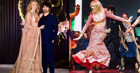 Sophie Turner At Priyanka's Wedding Is Exactly How I Want My Bridesmaids To Dress Up At My Own!