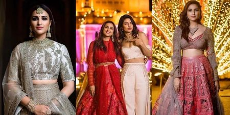 Here's How Parineeti Chopra Nailed The 'Sister Of The Bride Look' At The #Nickyanka Wedding!