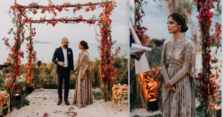 A Dreamy Indo-Pak Wedding With Just 70 Guests