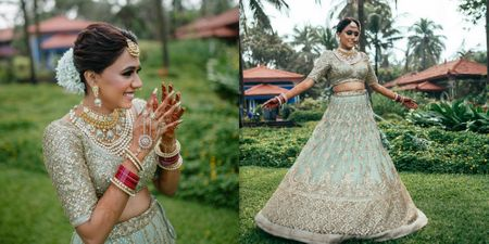 A Fun Goa Wedding With Sunset Hues And A Kickass Bridal Entry