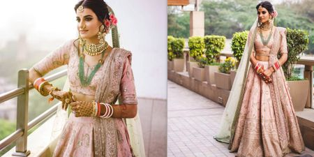 An Elegant & Fun Delhi Wedding With A Bride In Stunning Pastels!