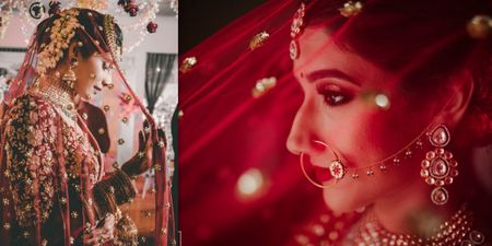 Prettiest Dupatta Shots We Spotted On Real Brides!