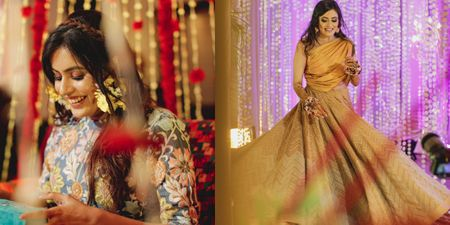 A Beautiful Ludhiana Wedding With A Bride Who Wore A Mehendi Outfit Designed By Her Mother