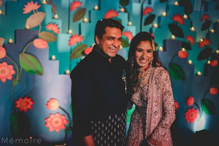This Delhi Wedding Had The Most Stunning Decor And A Bride In A Gorgeous Pink Lehenga