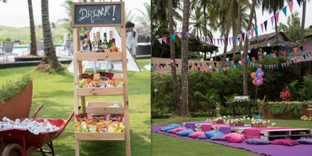 5 Cute Ideas We Spotted At This South Indian Mehendi Function