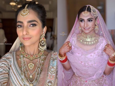 Brides Who Rocked The Nude Makeup Look On Their Big Day!