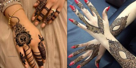 30+ Arabic Bridal Mehndi Designs For The ladies Who Want Something Unique!