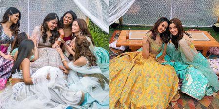 Alia Bhatt Slays As The Bridesmaid Yet Again At Another Bestie's Wedding!