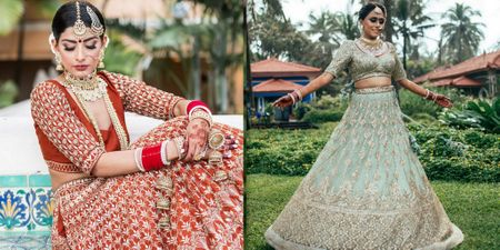 #LehengaShopping: How To Pick The Right Shade Of Colour That Flatters You Best!