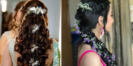 The Trendiest New Mehendi Hairstyles We Spotted!