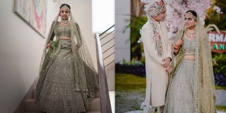 An Elegant Manesar Wedding With A Bride Who Slayed In Gorgeous Outfits