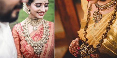 20+ Amazing Temple Jewellery Designs That We Spotted On WMG Brides!