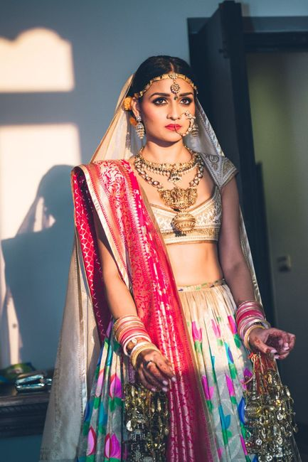 This Bride DIY-ed Her Bridal Lehenga With The Help Of 3 BIG Designers!