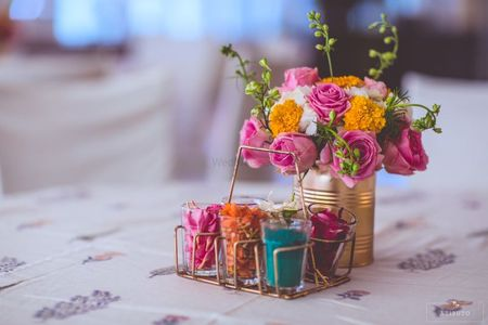 15 Ways To Use Cutting Chai Glasses Or Shot Glasses In Your Wedding Decor!