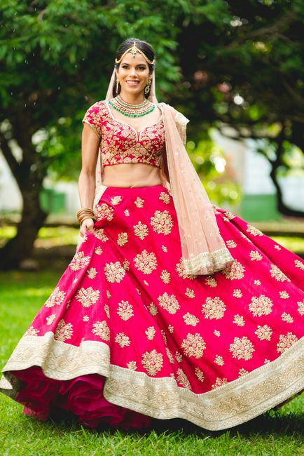A Gorgeous Wedding By The Sea And A Bride In A Stunning Pink Lehenga