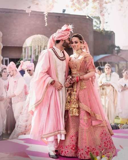 A Pretty Agra Wedding In Hues Of Pink Of A Fashion Entrepreneur