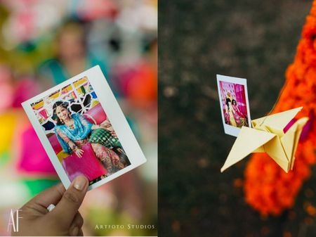 Instant Photos: The Perfect Mehendi/Haldi Favor!