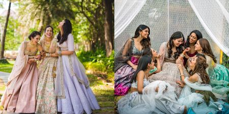 The Prettiest Mehendi & Wedding Day Bridal Squad Photos We Spotted Off Late!