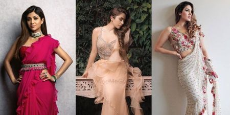 #Trending: Where To Get Ruffled Sarees From!