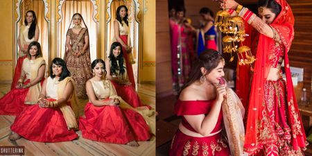 7 Ways To Wear Red As A Bridesmaid!