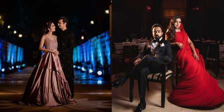 20+ Reception Gowns That We Spotted On Indian Brides