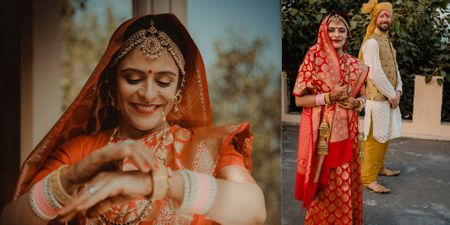 An Elegant & Intimate Delhi Wedding With A Bride Who Wore Her Mother's Bridal Saree