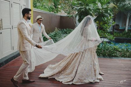 A Whimsical Destination Wedding With Breathtaking Jewellery And A Bridal Lehenga To Die For