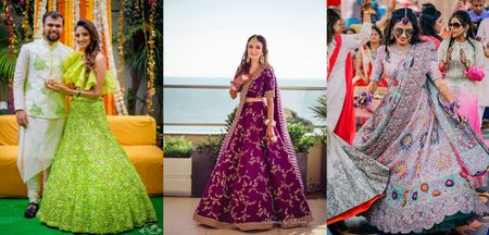 Boldest Colours Real Brides Wore On Their Mehendi!