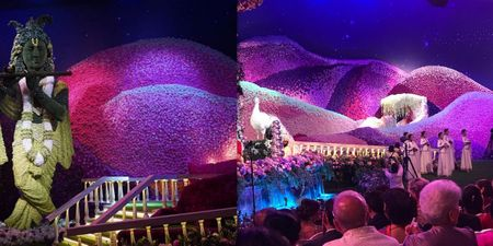 #FlowerPower: The Flower Decor At Akash Ambani - Shloka Mehta Wedding Had Us Floored!