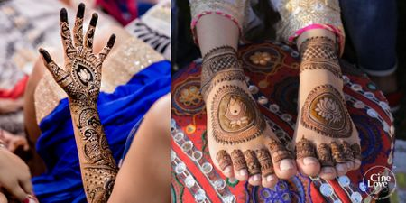 These Lotus Motif Mehndi Designs Totally Left Us Awestruck!