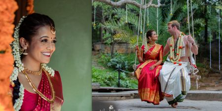 A Picturesque Bangalore Wedding With Minimal Decor And Beautiful Backdrops