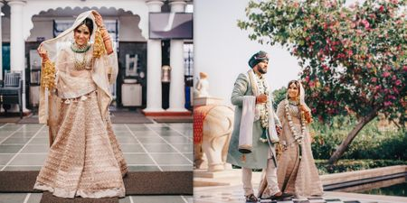 A Gorgeous Udaipur Wedding With A Fun Mehendi & Stunning Bridal Outfits