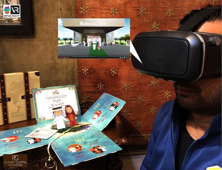 When Virtual Reality Meets Weddings: The Coolest New Wedding Invite Idea For 2019!