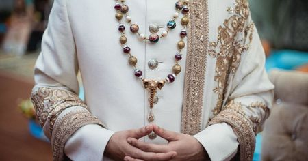 Who Said Jewellery Is Only For The Girls? 10 Grooms Who Rocked Stunning Jewellery At Their Wedding