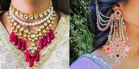 The Most Gorgeous Jewellery We Spotted In Under 15k For The Quintessential Sister Of The Bride!