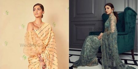 Here's Some Trendy New Saree Inspiration For You From Celebs!