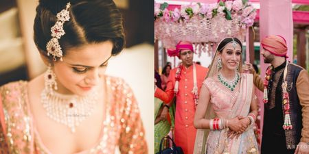 Tired Of Polki? Here Are Some Gorgeous Diamond Sets You Can Pair Up With Your Bridal Lehenga Instead!