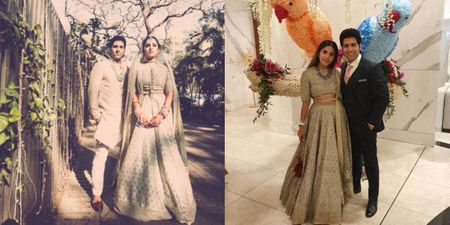 Here Is How This Fashion Blogger Wore Her Sabyasachi Bridal Lehenga Again After 3 Years!