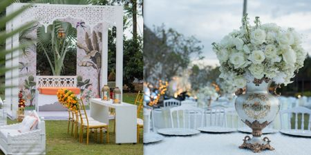 Clever Ways Of Using White In Your Wedding Without Making It Look Like A Whitewash!