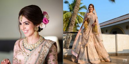 A Stunning Goa Wedding With Sunset Pheras And Gorgeous Outfits