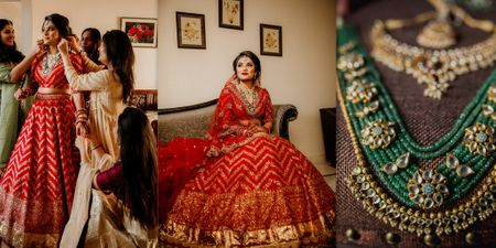 A Gorgeously Intimate Udaipur Wedding And A Bride In Traditional Red