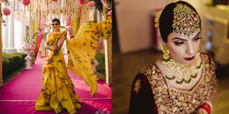 Bold And Beautiful - This Bride Went OTT With All Her Wedding Looks!