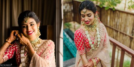 A Spectacular Udaipur Wedding With A Splash Of Colors And A Bride In A Cherry-Red Lehenga!