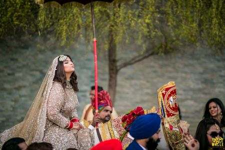 This Bride Entered Her Wedding On A Horse With A Proper Groom-Style Baraat!