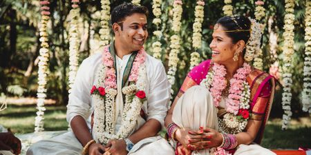 An Intimate Bangalore Wedding With Elegant Outfits And Only Those Who Matter